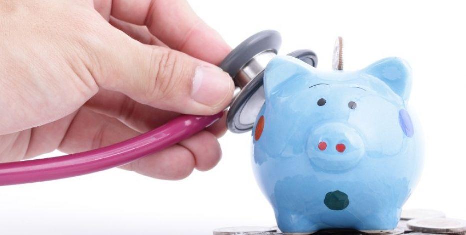 Business Checkup Piggy Bank